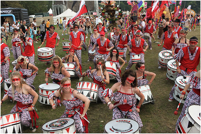 Batala Portsmouth at the Bestival 2014