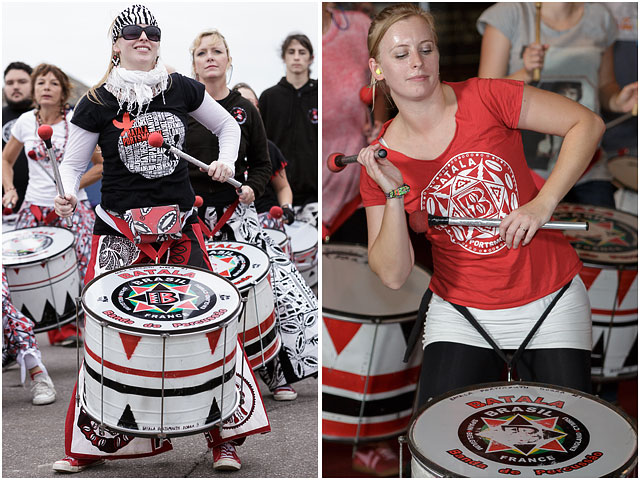 Jemma Graham Batala Portsmouth Dobra Drum Choreographer