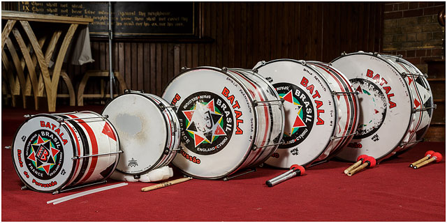 Batala Portsmouth Drums Red Carpet Sticks