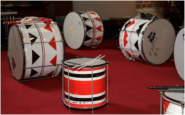Various Batala Portsmouth Drums