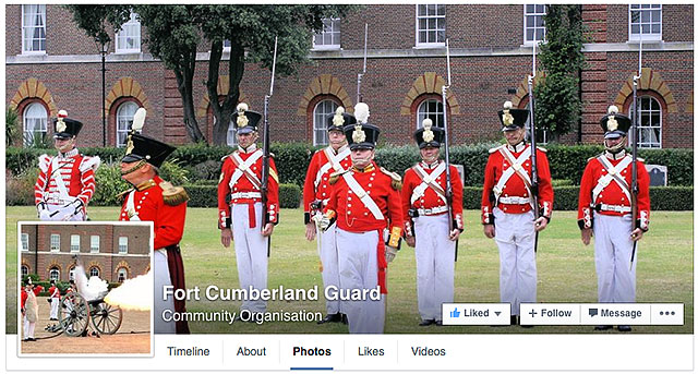 Fort Cumberland Portsmouth Militaria Society Facebook Guard