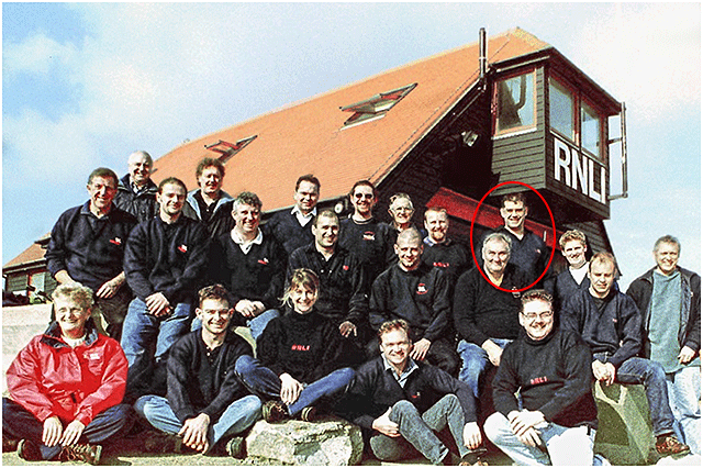 Portsmouth RNLI LIfeboat Crew Circa 2000