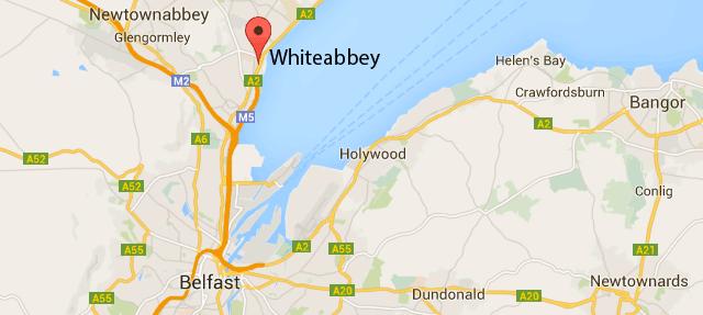whiteabbey-ireland-map