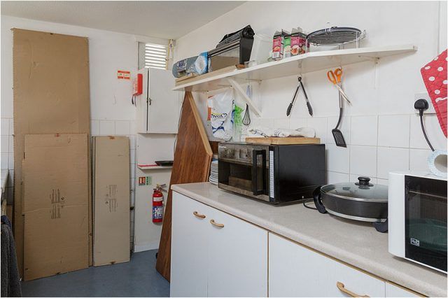 Cooking facilities at the Havant Men's Shed