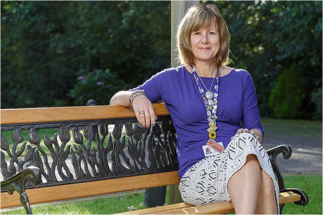 Lesley Clayton Rowans Hospice Community Fundraiser Havant Men's Shed