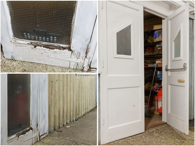 Replacement Entrance Doors Made by Shed Members