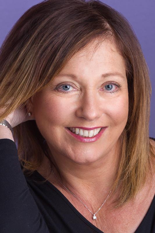Female headshot studio portrait