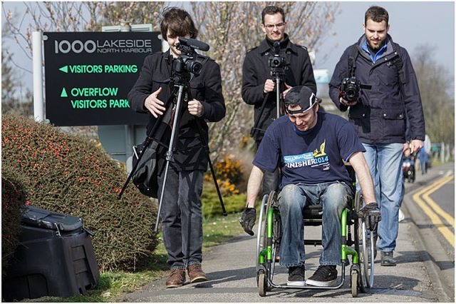 willow24 documentary film crew on the road following dave