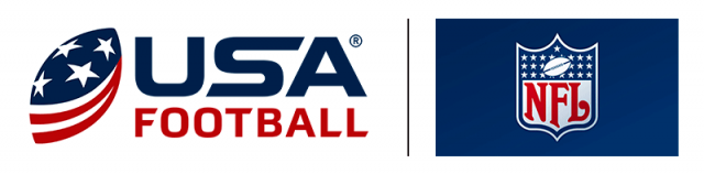usa football and nfl logo's