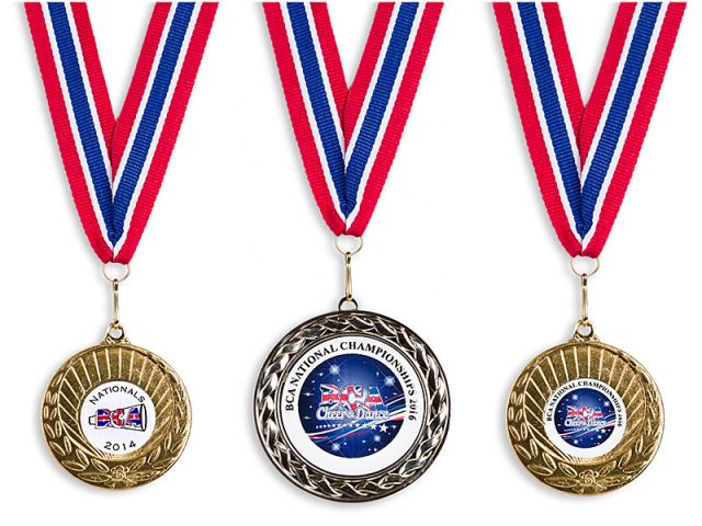 Portsmouth Warriors competition medals