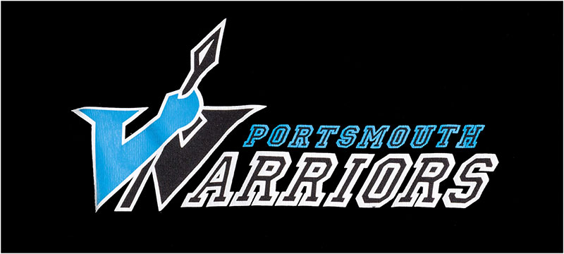Portsmouth Warriors Cheerleading Squad Logo