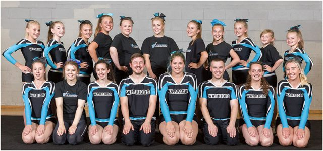 portsmouth warriors cheerleaders squad