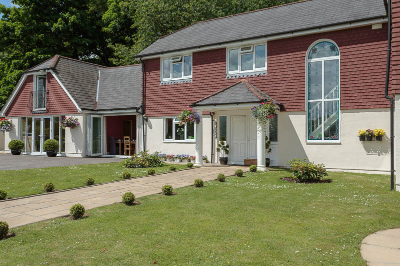 Exterior view of boutique bed and breakfast property in the sunshine