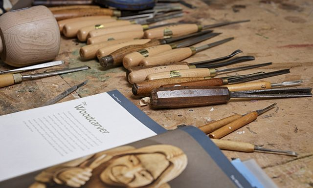 tools of the woodcarving trade