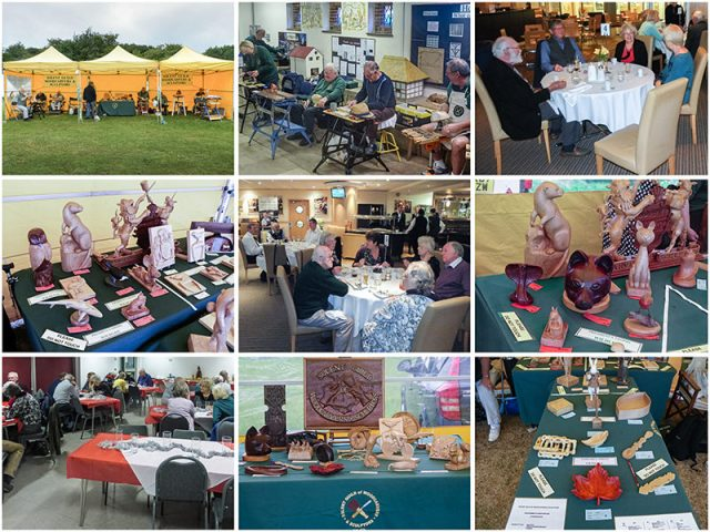 various events shows and dinners for the solent woodcarvers and sculptors guild