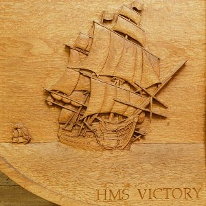 Battle Of Trafalgar Bicentenary Carving