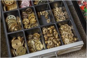 Meccano Brass Parts