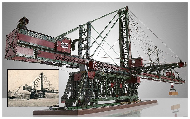 Zeebrugge's Hercules blocksetting crane