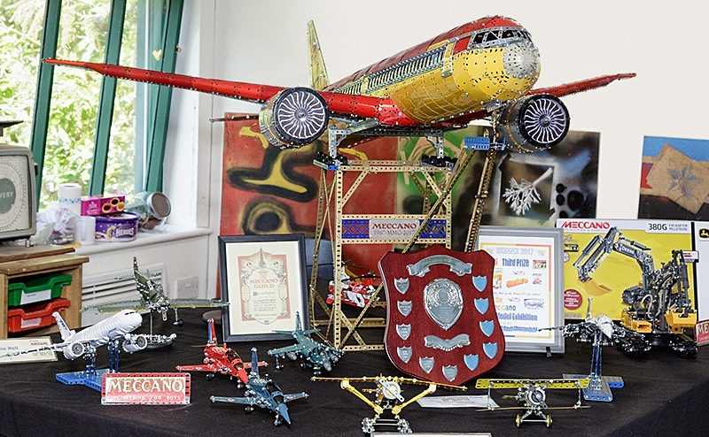 Meccano models by Colin Bull
