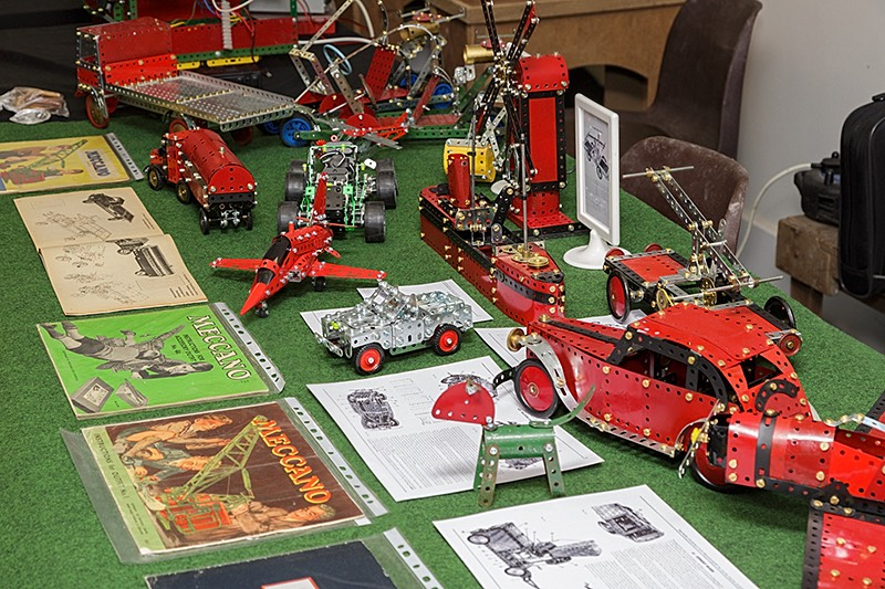 Various Meccano Models by xxx