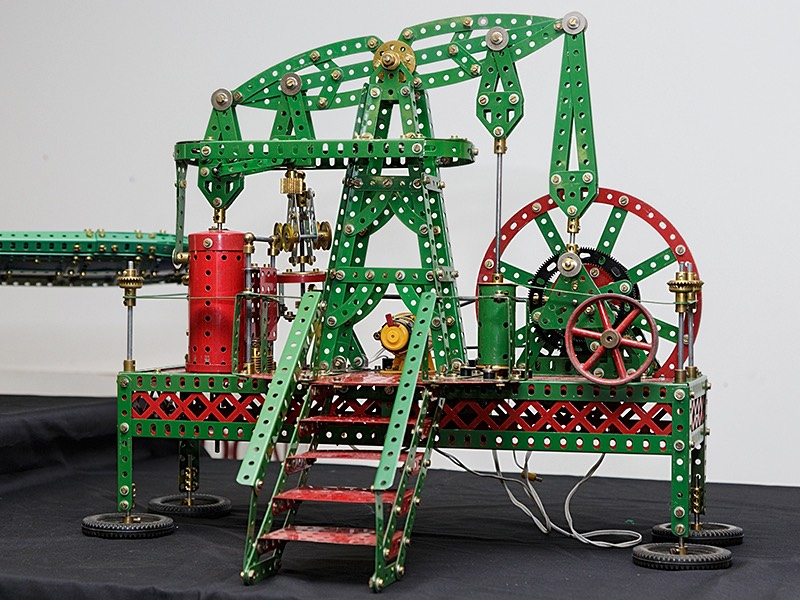 Meccano model by Bob Palmer