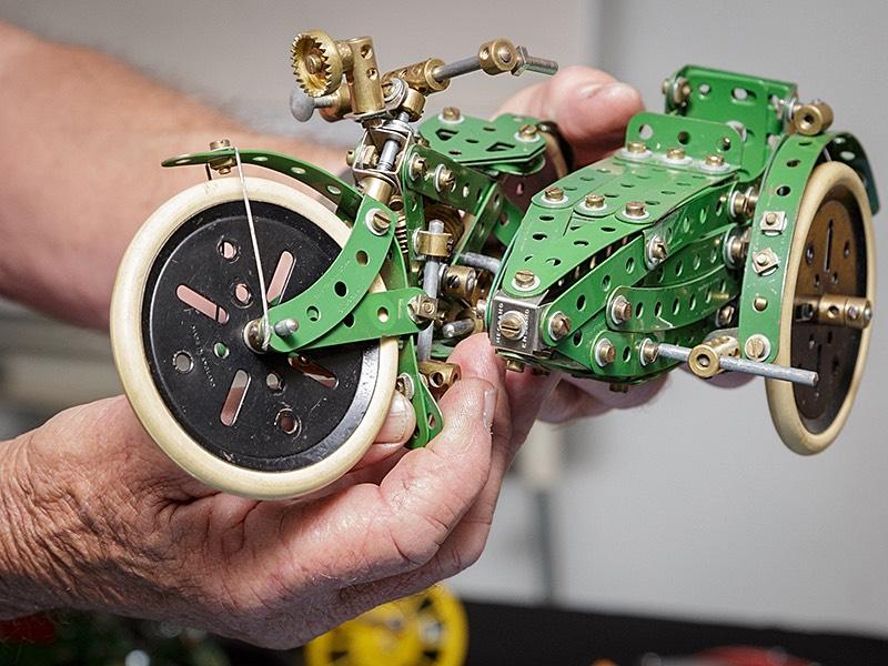 Motorbike And Sidecar By Bob Palmer