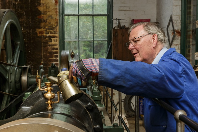 keeping the number one engine running at bursledon brickworks museum