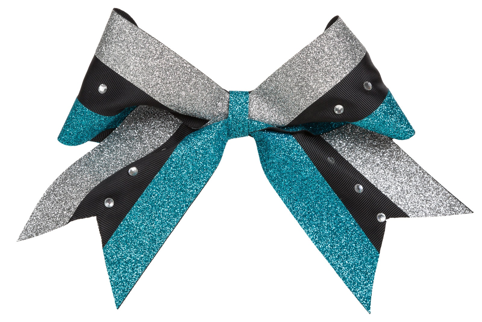 cheerleader outfit bow on white background