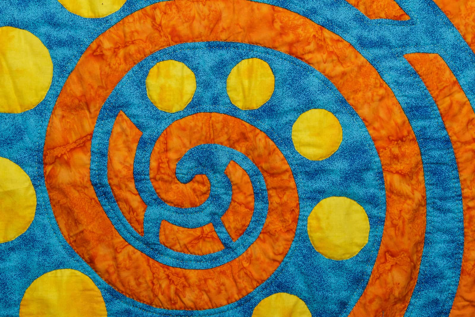 quilt design product close-up