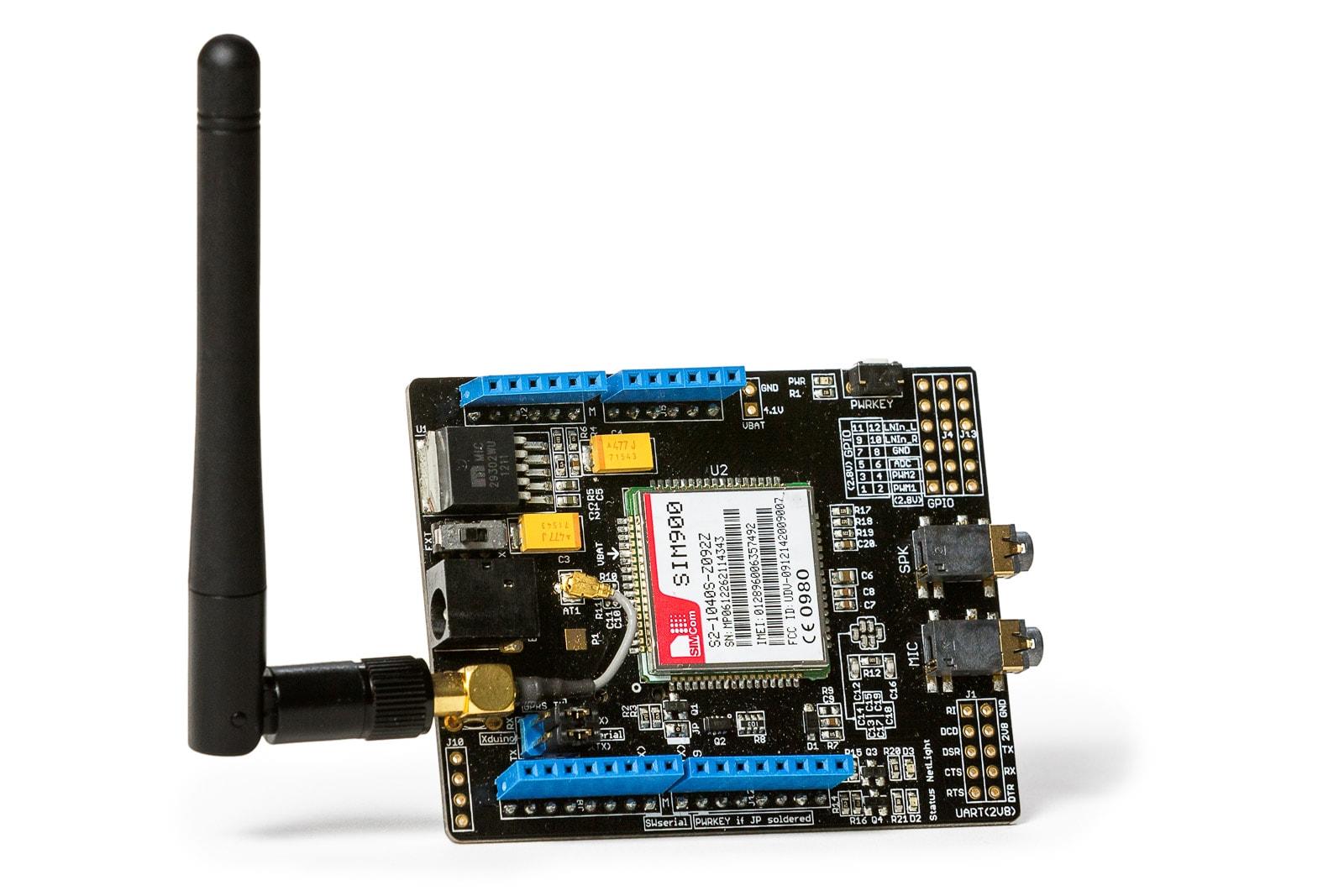 Wireless controller circuit board close-up