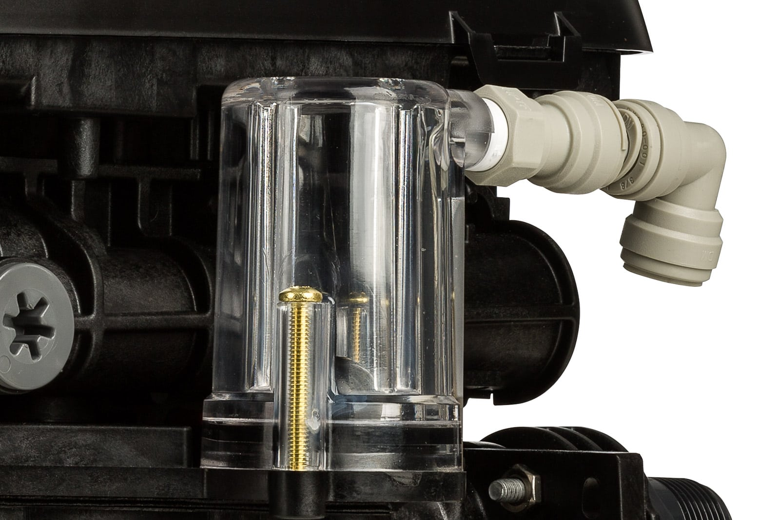 water softener pump product close-up